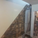 Staircase Demolition Before